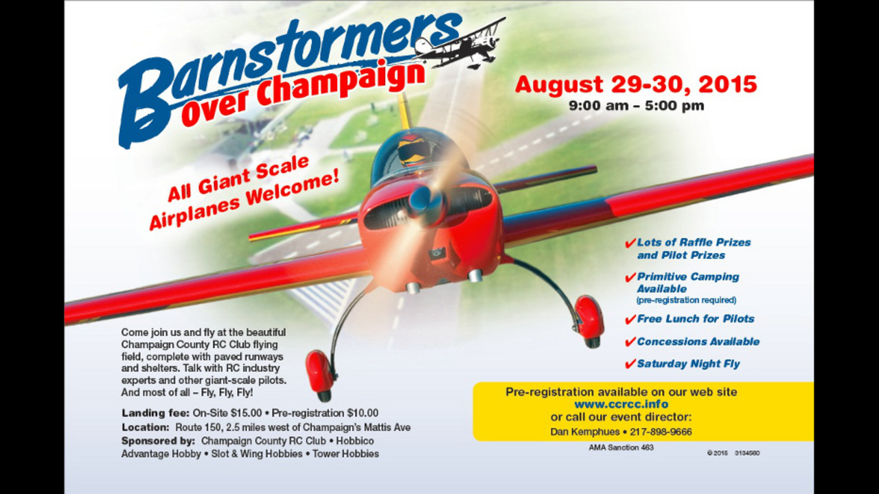 Barnstormers Over Champaign