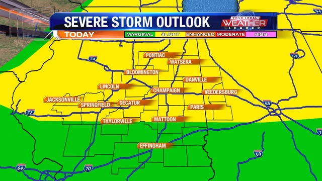 Weather Now: Possible Severe Storms Tonight