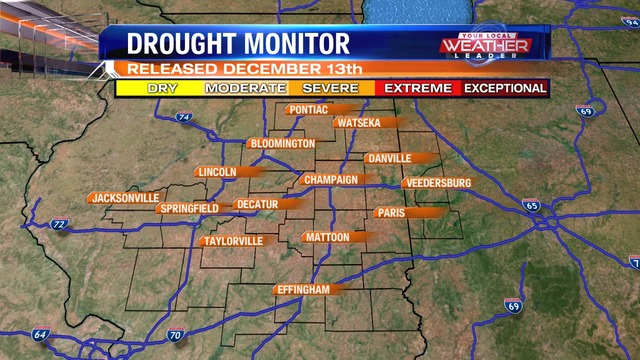 No Changes In Latest Drought Monitor