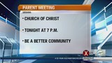 Church holds parenting meeting