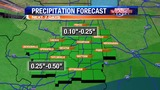 Some Additional Showers Sunday and Monday