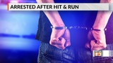 Man arrested after hit and run