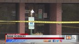 Police respond to bank robbery