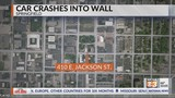 Man crashes into wall outside Governor's Mansion